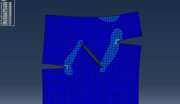 my simulation in abaqus