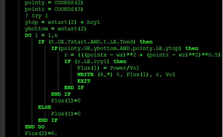 4.5 Spiderhauntig Fortran