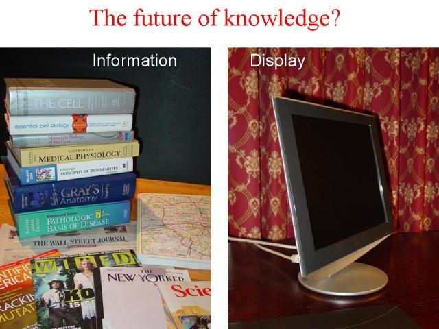 The future of knowledge?